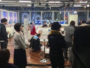 クライアントへの取材でテレビの収録スタジオに同行することも!