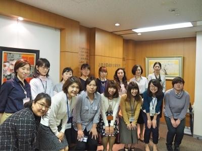 上田公認会計士事務所です!社内は皆仲が良く、毎日笑いの絶えないオフィスです!