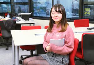 WEBマーケティングのインターン業務をしています。(慶應義塾大学2年)