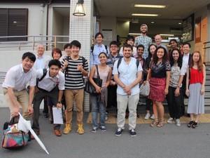 世界各国の留学生の視点を学べたり、日本にいながら世界とつながれる刺激的な環境です