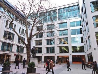 アバディーングループ・ロンドンオフィスの様子