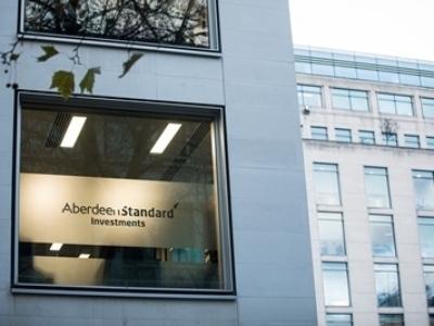 アバディーン・スタンダード・インベストメンツグループ・ロンドンオフィスの様子