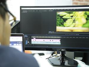 動画コンテンツの制作にも携われます!