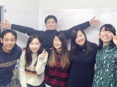 20代の若いスタッフが学生の皆さんの応募をお待ちしています。