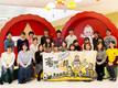 キューピー様で開催したPRイベント「家事メン育成作戦!料理教室」の集合写真です。