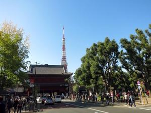 東京タワーや増上寺近くのキレイなオフィスです。