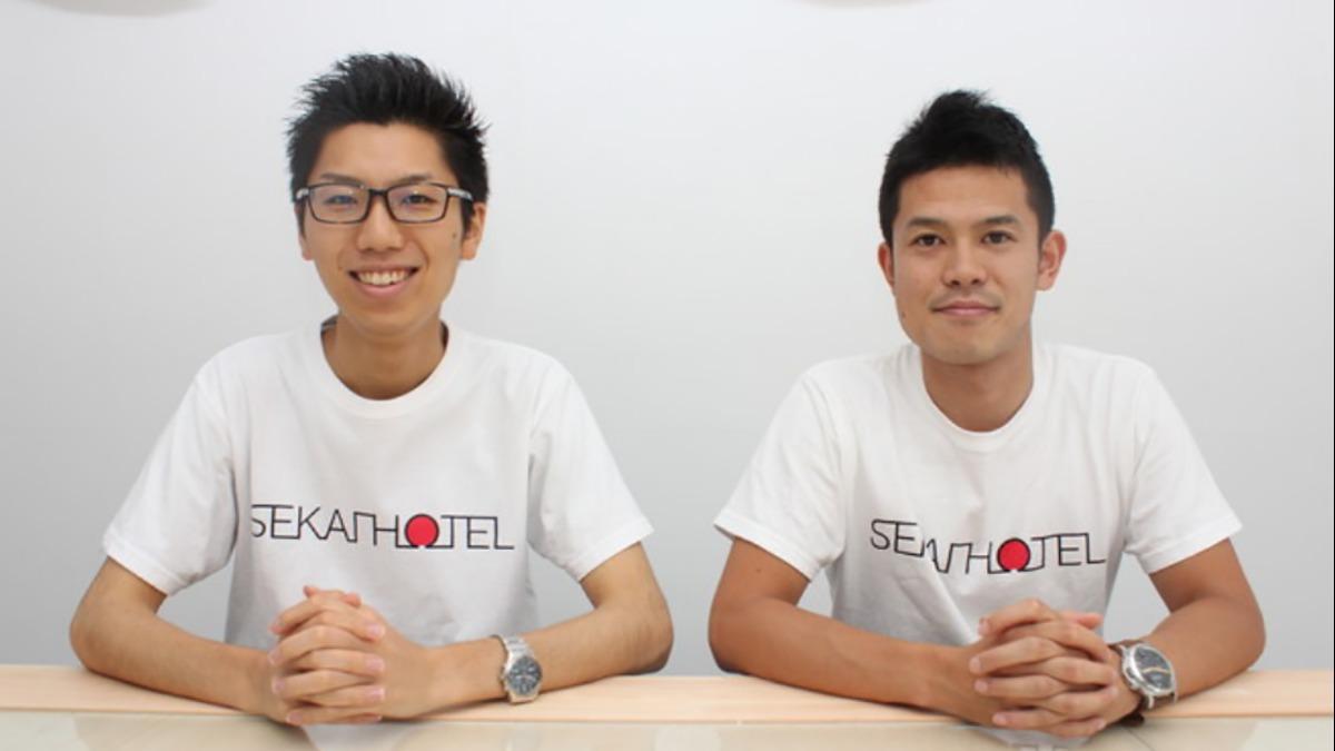 大阪で一番インターン生がいる会社が始めた新規事業「SEKAI HOTEL」って何?事業責任者の若手社員2名に聞いてみた。
